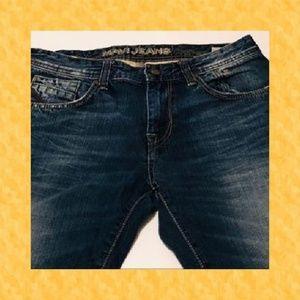 Men's Mavi Jeans Zach Low-Rise Straight Leg 31X34